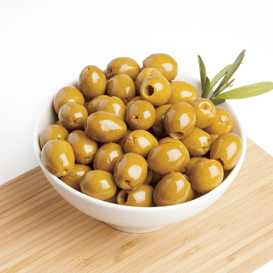 Seasoned Pitted Olives