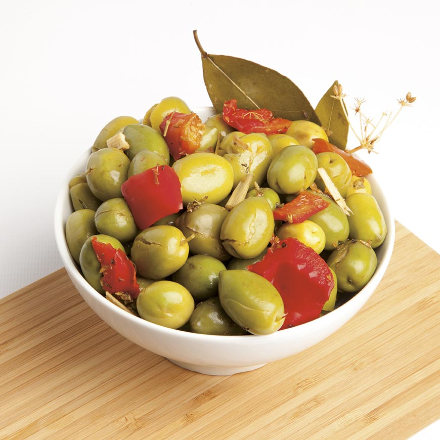 Crushed Olives