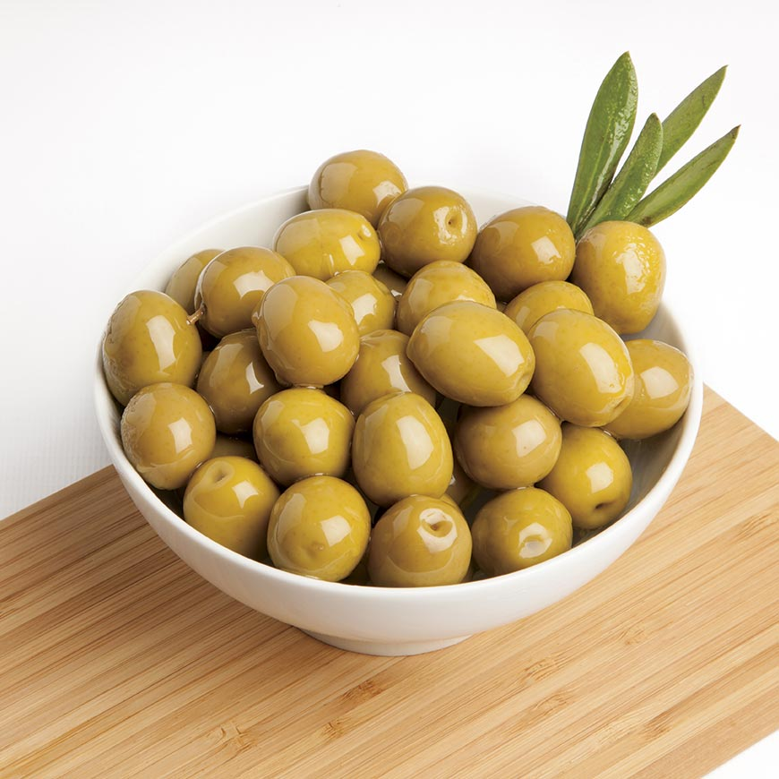 Anchovy flavoured Manzanilla Olives