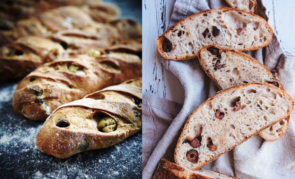 ¿Cómo cocinar un pan de aceitunas?