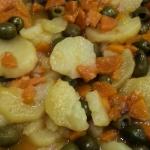 La receta de Manuela: Patatas con aceitunas