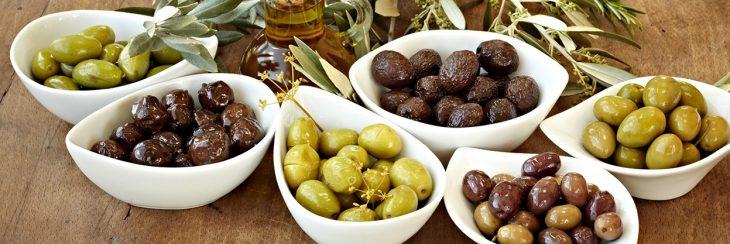 Las aceitunas, presentes en la comida gourmet