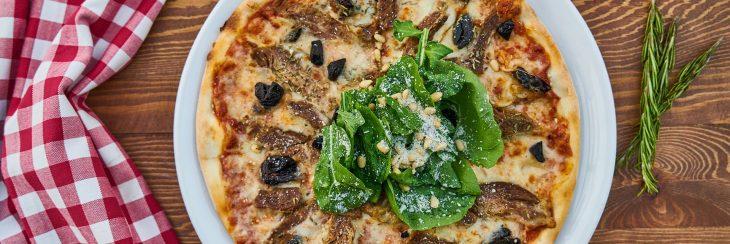Recetas con aceitunas: pizzas