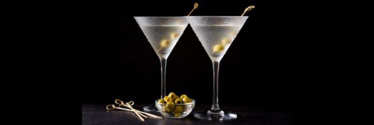 Origen de la aceituna en el martini